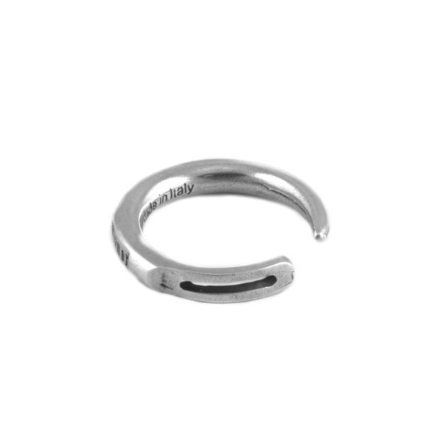 Anello Ago Argento Made in Italy Clamor Glamour Linea Glamour