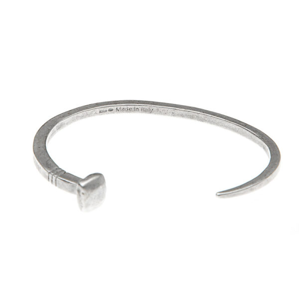 Bracciale Chiodo Argento Made in Italy Clamor Glamour Linea Clamor
