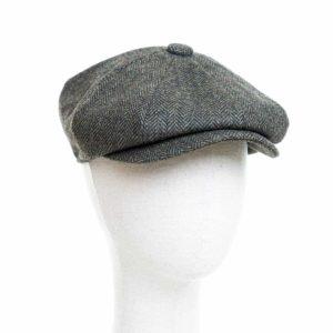 Cappello Baker Boy Hat Verde Spinato Clamor Glamour Fronte