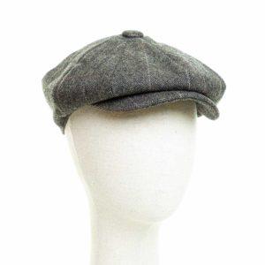 Cappello Baker Boy Hat Verde Spinato Fine Clamor Glamour Fronte