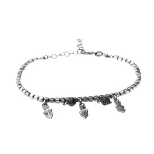 Bracciale Cupido Charms Argento Made in Italy Clamor Glamour Linea Glamour