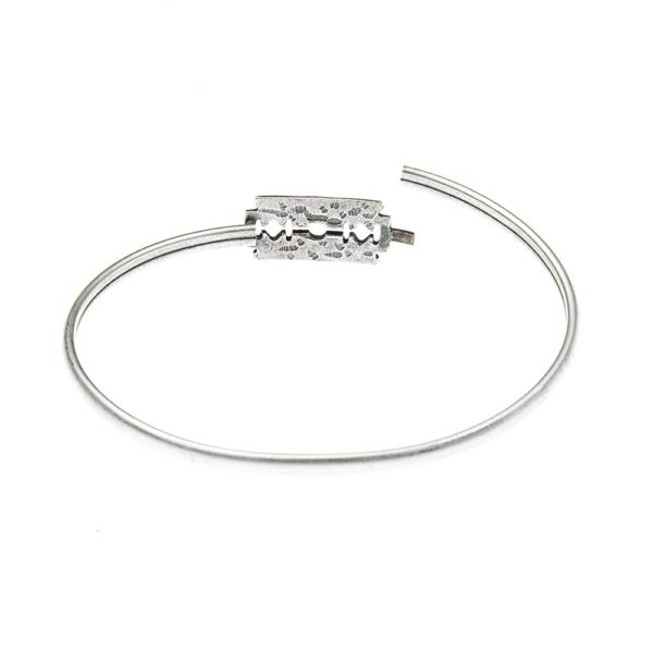 Bracciale Lametta Argento Made in Italy Clamor Glamour Linea Glamour
