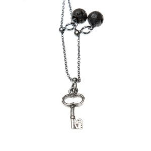 Collana Chiave Love Charms Argento Made in Italy Clamor Glamour Linea Venezia