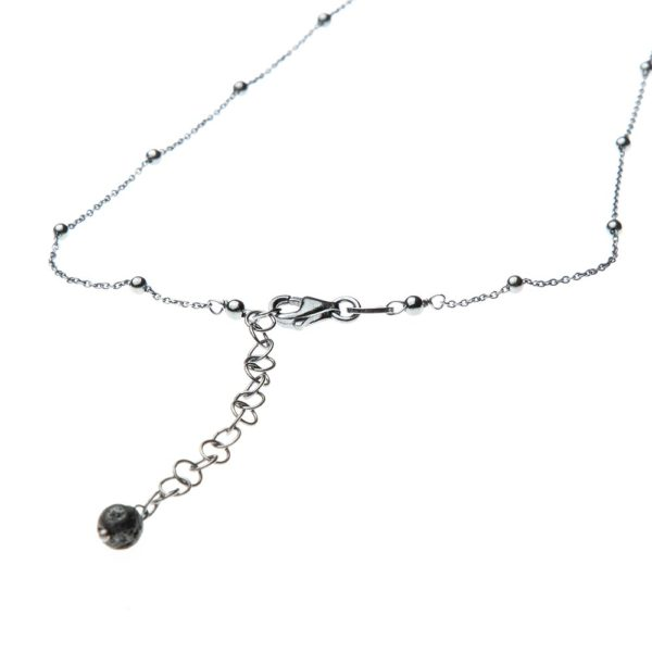 Collana Chiodo Charms Argento Made in Italy Clamor Glamour Linea Clamor